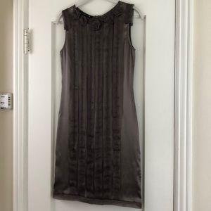 Tenax Italian silk couture dress